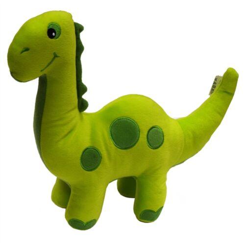 Childrens Cute Dinosaur Shaped Green Luxury Soft Filled Cushion Kids New