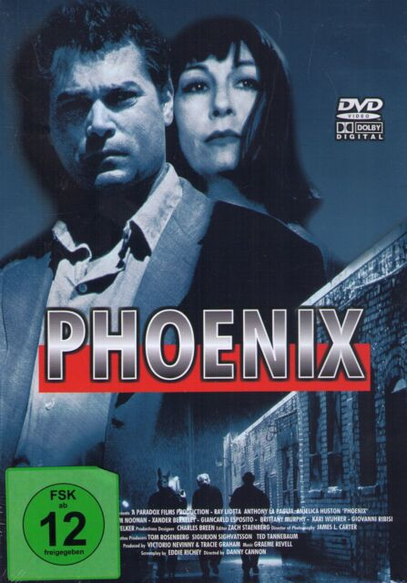 DVD NEU/OVP - Phoenix - Ray Liotta, Anthony La Paglia & Anjelica Huston