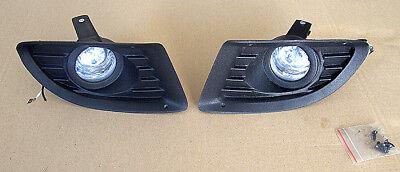 2 FARI FENDINEBBIA CON GRIGLIE PER FIAT PUNTO 2006- | eBay