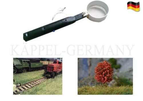 Prairies Maître électrostatique begrasungsgerät h0 2 tamis 2in1 Made in Germany