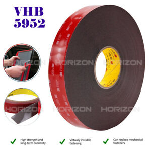 Genuine 3M VHB #5952 Double-sided Mounting Tape Adhesive Tape Automotive 3M/10FT