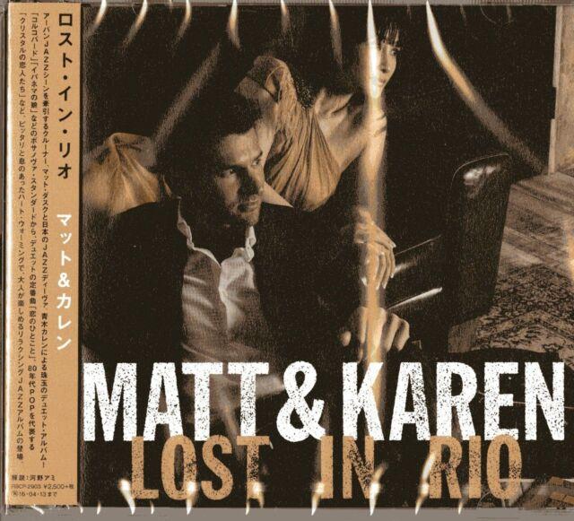 MATT DUSK & KAREN AOKI-MATT & KAREN LOST IN RIO-JAPAN CD F56