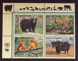 Briefmarke-Vereinten-Nationen-New-York-Briefmarke-N-927-Bis-930-N-MNH-Y7