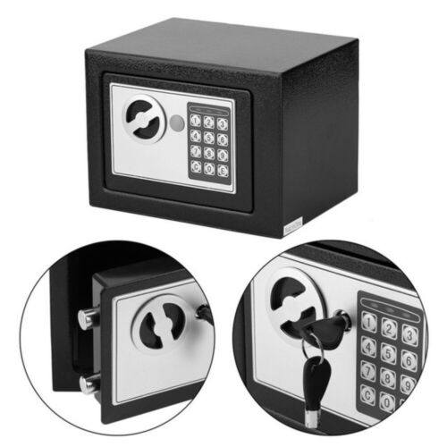 Elektronischer Möbeltresor 23 x 17 x 17 cm Safe Tresor Wandtresor Geldschrank DE