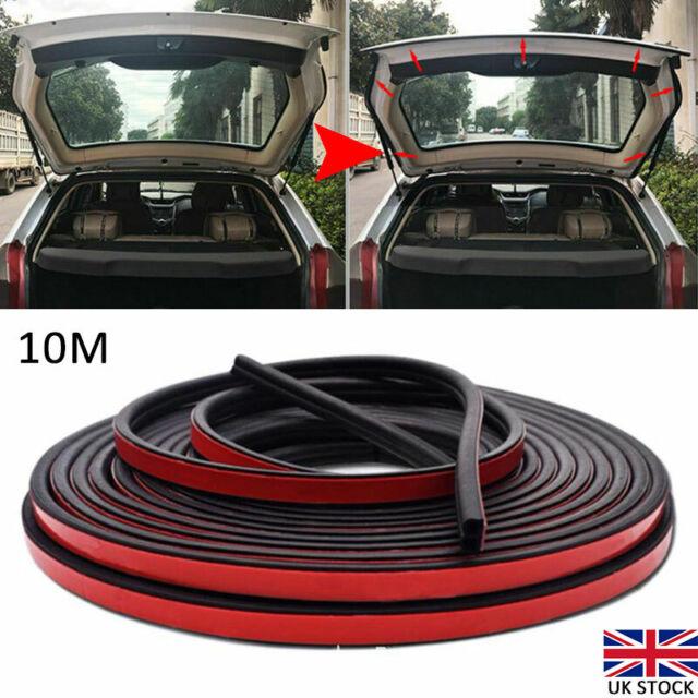 10M UShape Auto Car Door Window Edge Rubber Weatherstrip Seal Strip Sealing Trim