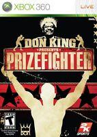 Don King Presents Prizefighter (import Américain) Jeu Xbox 360 Live -