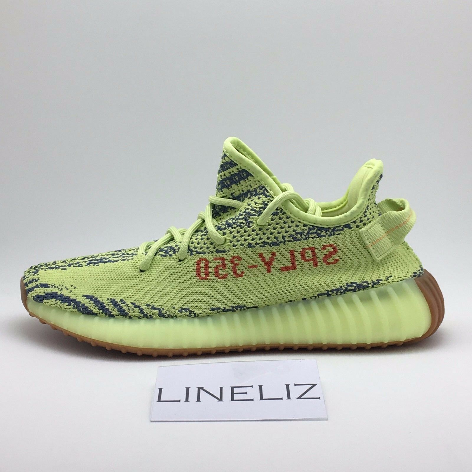 Adidas YEEZY Boost 350 V2 Semi Frozen Yellow SIZES UK8 B37572