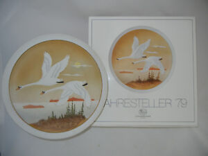 Hutschenreuther-Kunstteller-1979-Flight-IN-The-South-No-86-From-2000-Plate
