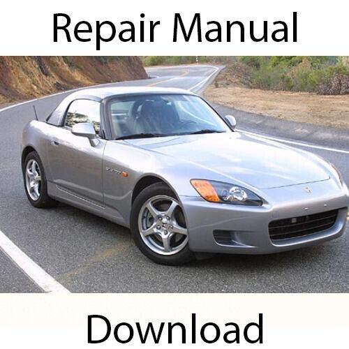 Honda S2000 1999-2003 Repair Manual Workshop Service