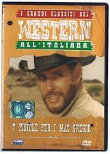 WESTERN ALL'ITALIANA 7 PISTOLE PER Mc GREGOR  DVD EDITORIALE