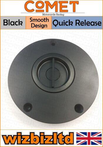 Comet Black Quick Release Fuel Cap Gas Cap Honda VFR 800F 1998-2012 FC534QBK