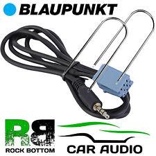 BLAUPUNKT Malaga CD coche MP3 iPod iPhone Entrada Aux 3.5mm Jack Cable de plomo