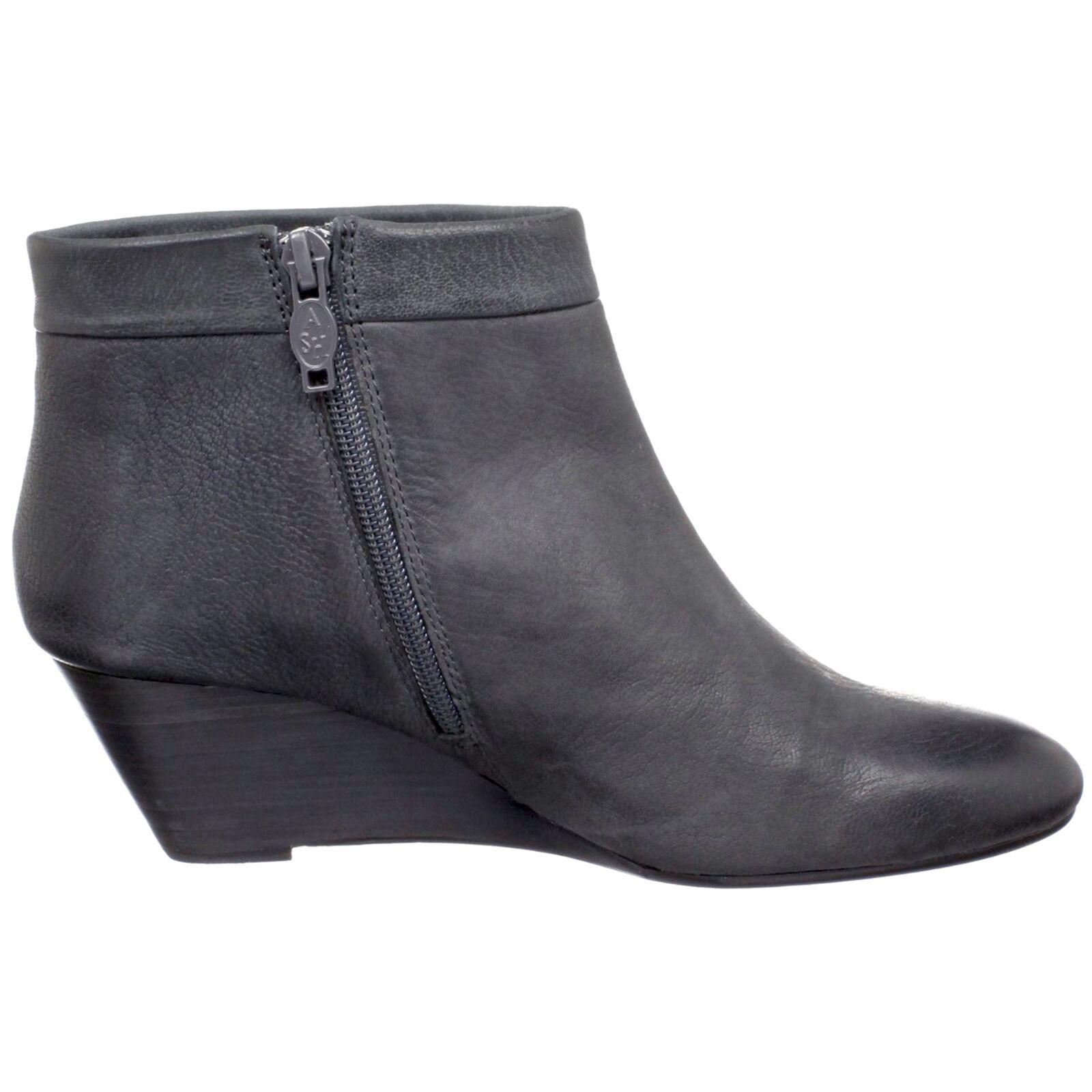 punti vendita NEW Ash Italia Donna Kristy Kristy Kristy Iron leather ankle wedge stivali Dimensione 38 M  265  molte sorprese