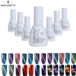 Born-Pretty-Cat-Eye-UV-Gel-Nail-Polish-Soak-Off-3D-Chameleon-Magnetic-Gels-DIY