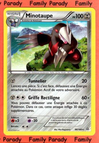 Minotaupe 100pv 96//160 XY Primo Choc Carte Pokemon Rare neuve fr