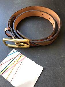 Paul-Smith-Ladies-Swirl-Belt-XS-20mm-width