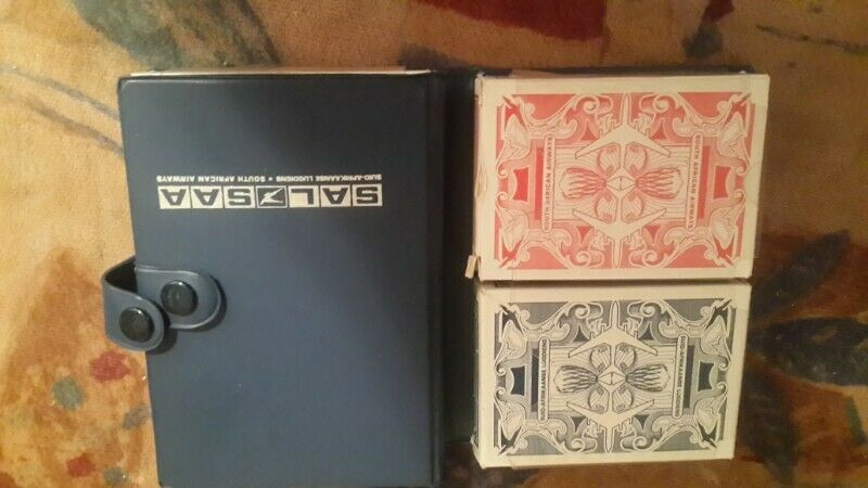 PLAYING CARDS ORIGINAL [ S A L L SOUTH AFRICAN AIRWAYS  DUTY FREE