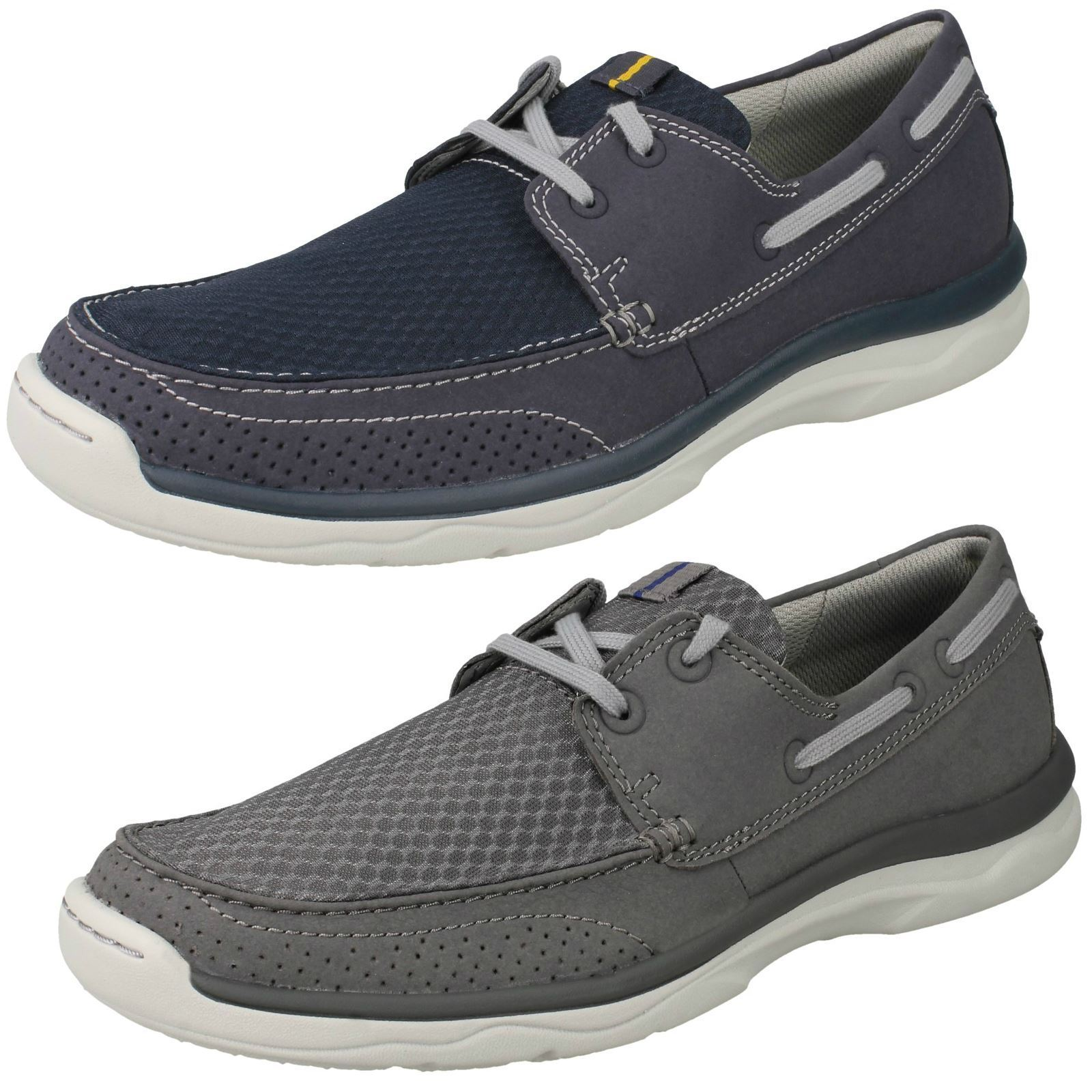 Uomo Clarks Up Marus Edge Cloudsteppers Lace Up Clarks Casual Schuhes e35c3a