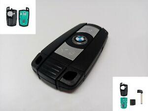 BMW-E60-E70-E81-E90-X5-CAS-Dash-3-Button-Remote-Key-Fob-Blade-868mhz-With-Chip