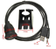 Motorcycle-Car-3-5mm-USB-2-0-AM-FM-USB-Audio-Waterproof-Lead-Panel-Cable thumbnail 2