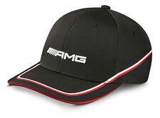 original Mercedes Benz AMG Flexfit Base Cap Kappe Hut Mütze 2016 schwarz rot NEU