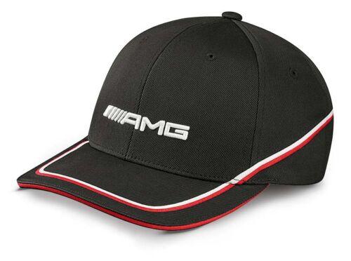 Original Mercedes Benz AMG Flexfit Base Cap Cap Hat Cap 2016 Black Red New