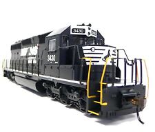 HO Scale Model Railroad Train Engine Norfolk Southern SD-40 Locomotive DCC Sound