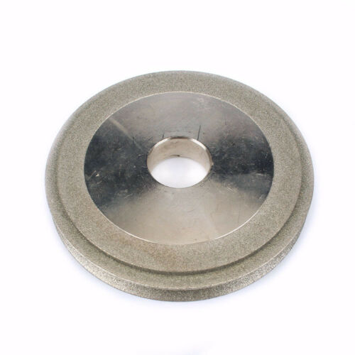 3 Inch Electroplated Diamond Grinding Wheel 2 Layer Profiled Sharpener Grinder