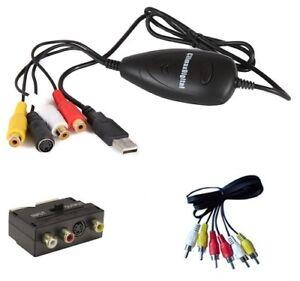 ClimaxDigital VCAP302 VHS Video & Camcorder Tapes to PC/DVD Kit  Windows & Mac