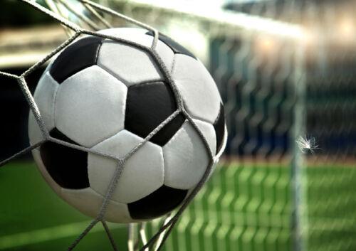 Garçons football but score football stade enfants mural papier peint photo