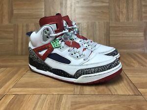 best website d5496 4c873 Image is loading RARE-Nike-Air-Jordan-Spizike-Light-Poison-Green-