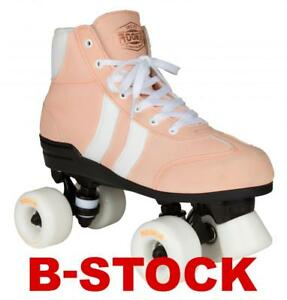 New-Rookie-Authentic-v2-Blossom-Pink-Girls-Womens-Quad-Wheels-Roller-Skates