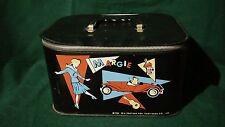 Vtg Margie 1962 Girl's Small Black Play Cosmetic Zip Case 20th Century Fox Tv