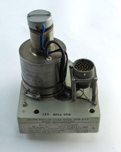 Singer Kearfott 334T-2 Servo Autothrottle Tachometer Collins Radio 229-2054-010