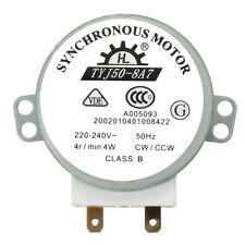 CW/CCW Microwave Turntable Turn Table Synchronous Motor TYJ50-8A7D Shaft 4RPM