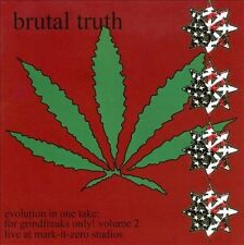 Brutal Truth ‎– Evolution In One Take: For Grindfreaks Only! Vol 2 (*CD, 2009)