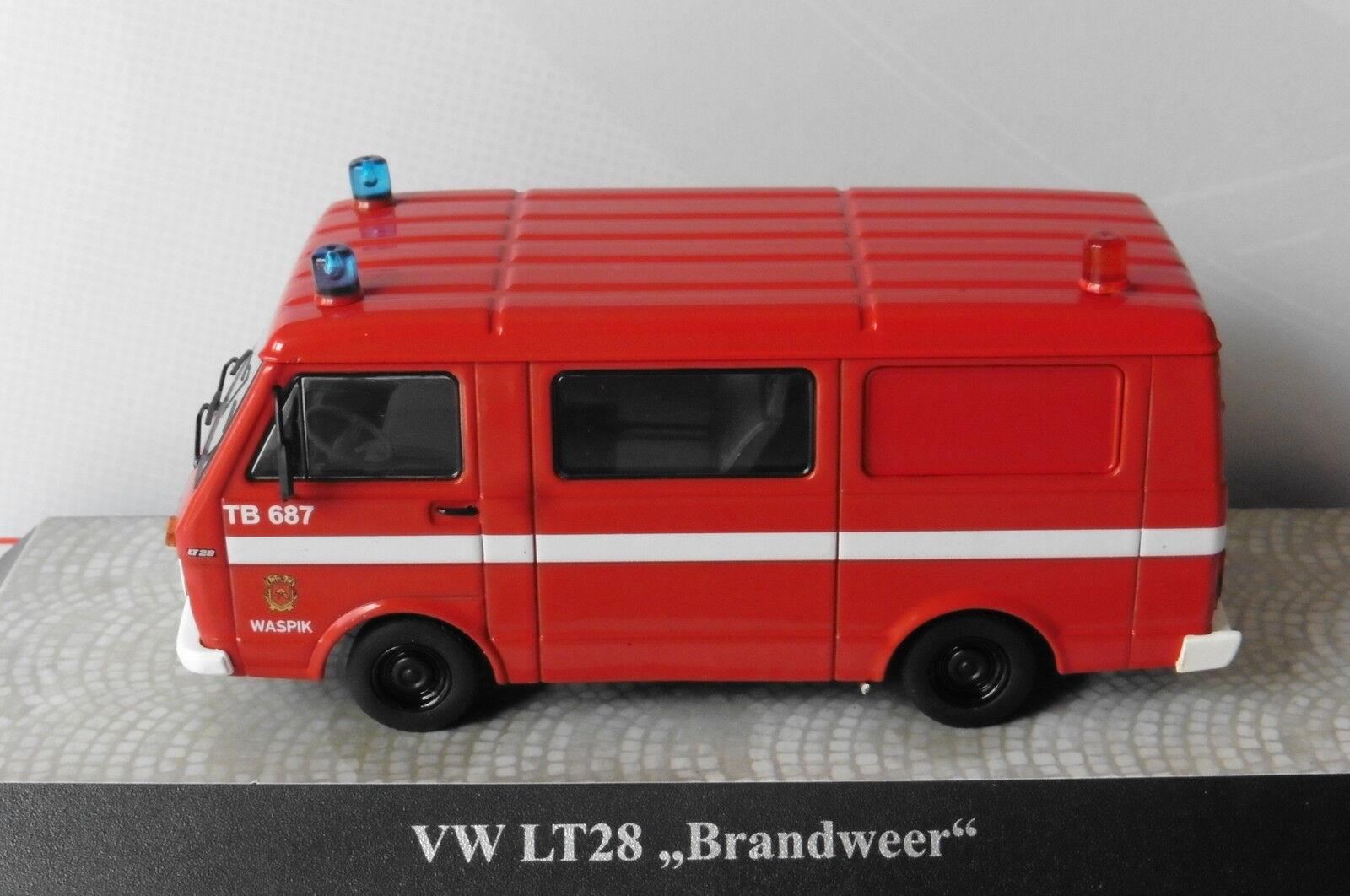 VW VOLKSWAGEN LT28 BUS BRANDWEER WASPIK NL PREMIUM CLASSIXXS 13353  KOMBI