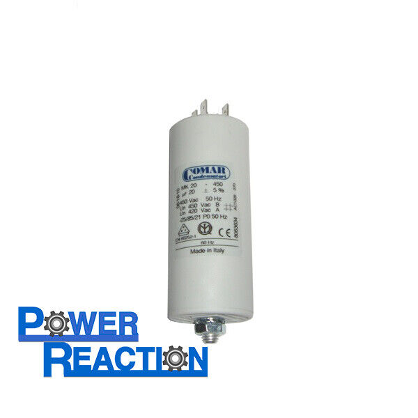 Film Capacitor Snap-In, Motor Run B32332 Series Quick Connect 450 V 10 µF