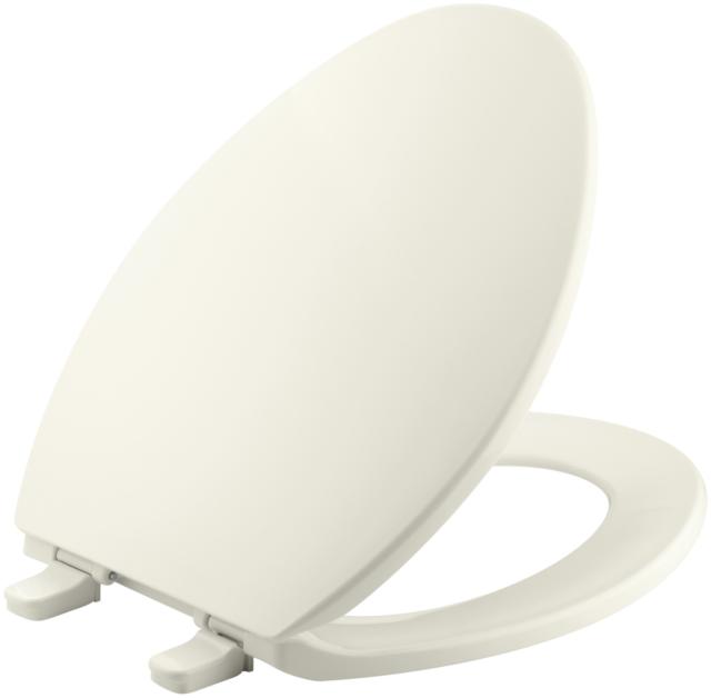 Kohler K 4659 K4 Bancroft Elongated Cashmere Toilet Seat Quick Release For Sale Online Ebay