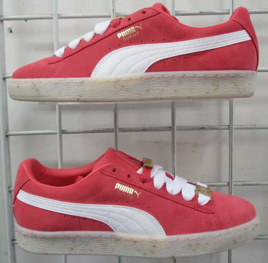 Women's Puma Suede Classic BBoy Fab Sneakers, New Red Dahlia Walking shoes 8.5