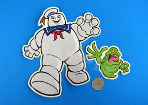 Stay Puft Slimer Vinyl Sticker Set Skateboard Decal Real