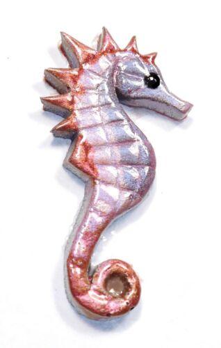 2.WAHL !! mini//mittel Mosaiksteine-Seepferdchen-Farbe:silber//blau//rot-Grösse