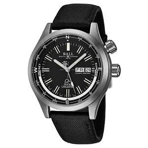 Ball-Men-039-s-Engineer-Master-Black-Dial-Black-Nylon-Automatic-Watch-DM1022A-N3J-BK