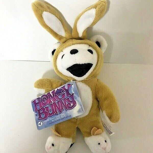 Grateful Dead BEAN BEAR 7  HONEY BUNNY Rabbit Plush Doll Toy F S