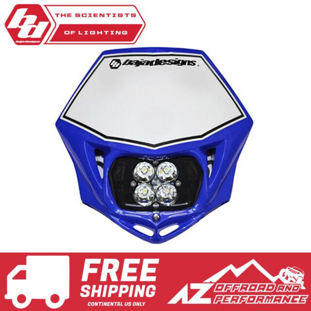 Baja Designs Squadron pro Motocicleta LED Race Azul Claro AC Power