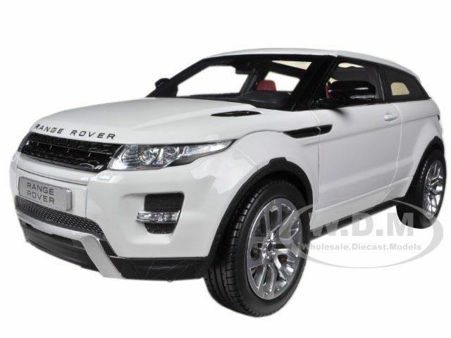 LAND ROVER RANGE ROVER EVOQUE blanc W blanc ROOF  1 18 WELLY 11003  beaucoup de concessions