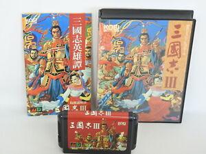 SANGOKUSHI-III-3-ref-C-Mega-Drive-Sega-md