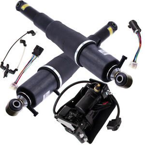 Pair Rear Left /& Right Air Shock Absorber For 2000-2014 Cadillac Escalade 2003-2013 Chevy Avalanche 2000-2014 Suburban 1500 Tahoe 00-14 GMC Yukon Air Autoride Suspension Strut
