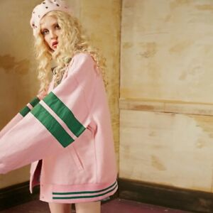 Largo estilo F de lana Abrigo Outfit Complex chaqueta College de bᄄᆭisbol Winter 2017 Nueva 7PTqxw6fn