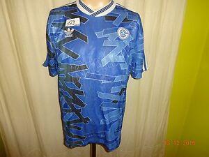 FC-Schalke-04-adidas-original-Home-Jersey-1992-93-034-Ractiv-034-Nr-4-Gr-S-M
